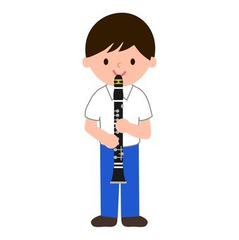 Brass band clarinet (boys)