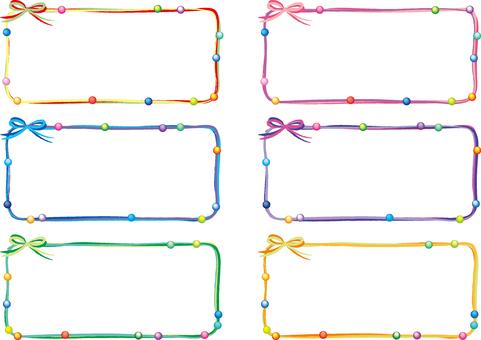 Thong frame set (beads) 3
