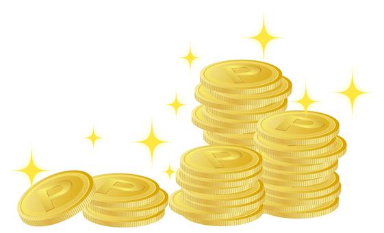 포인트 동전 01