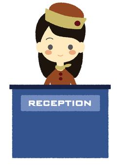 Reception woman Fall Winter