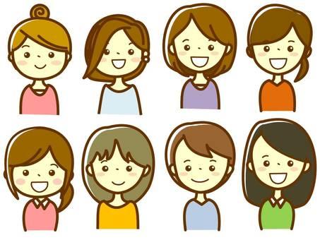 Various ladies