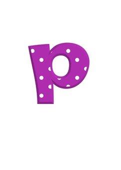 Alphabet (p)