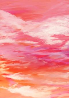 황혼 하늘 ③