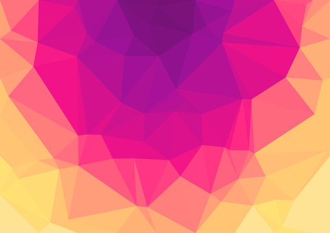 Pink and orange digital background material