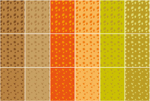 Fall background pattern collection
