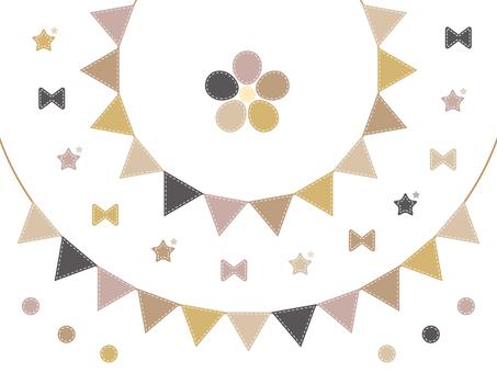 Garland (beige)
