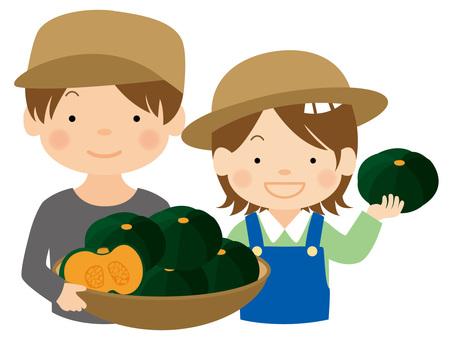 Pumpkin farmer / type i / uta