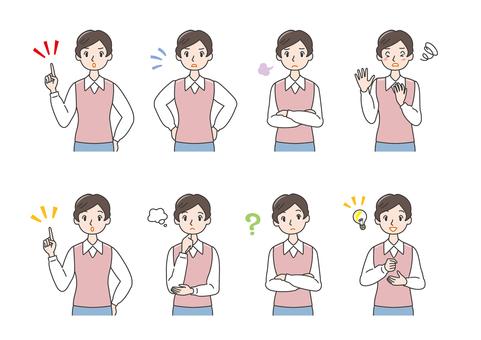 ac conflict woman emotional expression question conversation