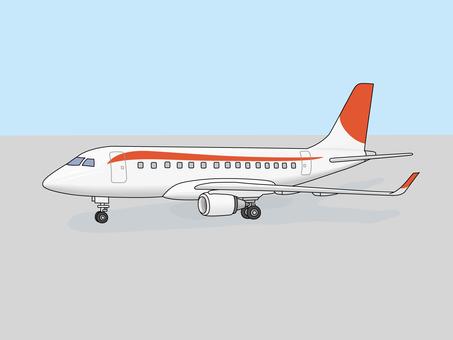 Passenger aircraft (minicomputer) 1