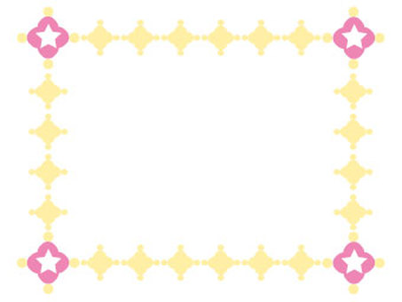 Floral and decorative frame 2-6