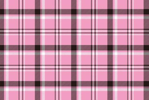 Tartan check pink