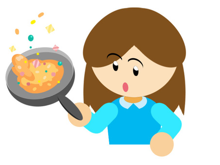 In cooking · Fried rice