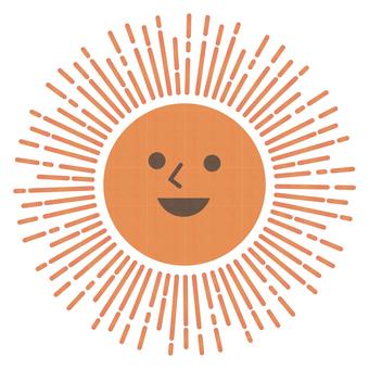 Sun _ illustration of the sun