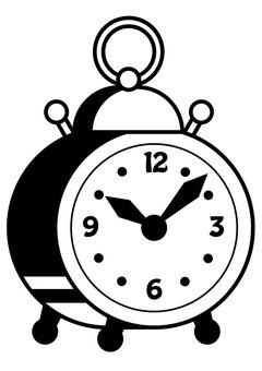 目覚まし時計1c