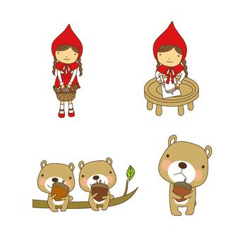 Little Red Riding Hood Set · 07
