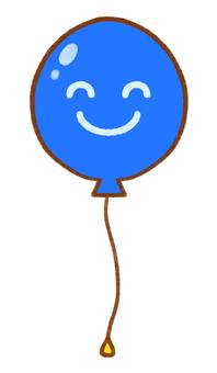 Niconi's simple blue balloon