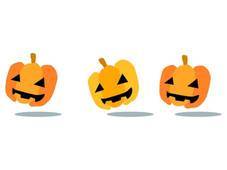 Ghosts of pumpkin