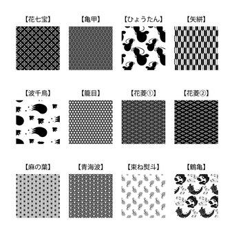 Seamless Japanese Pattern Pattern Material