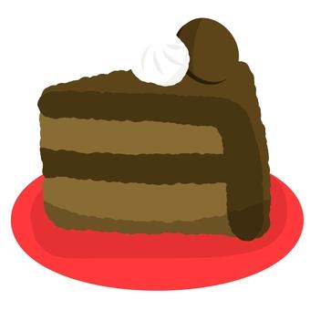 巧克力蛋糕②