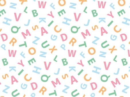 字母圖案4