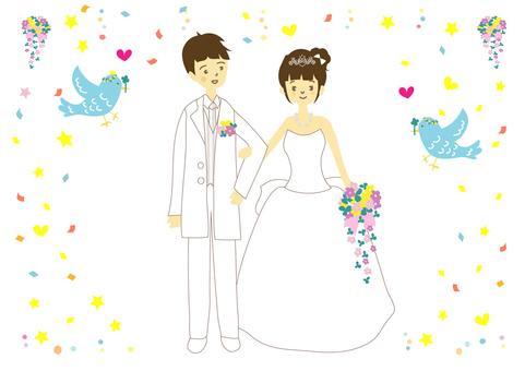 婚礼2框架