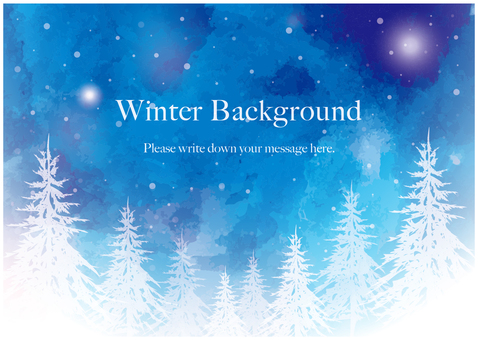 Winter Background 02