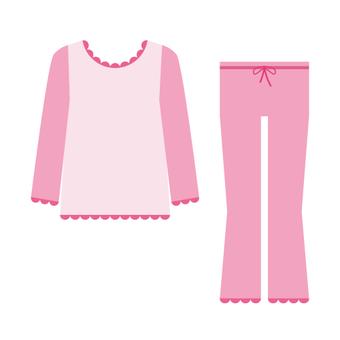 잠옷 (핑크 계열)