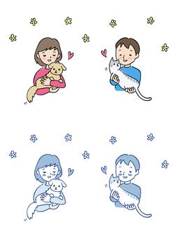 애견가 · 愛猫家 / 그린