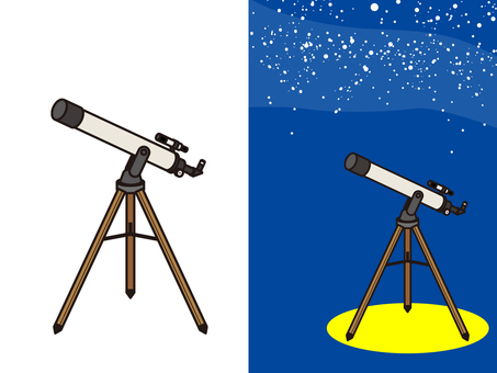 Astronomical telescope observation