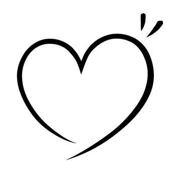 Heart's line · Black 2