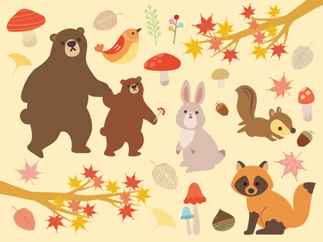 Fall illustration collection (4)