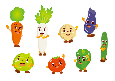 Vegetable character set