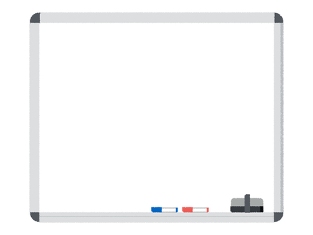 White board whiteboard frame