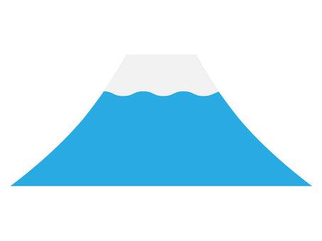 후지산 [블루 심플]