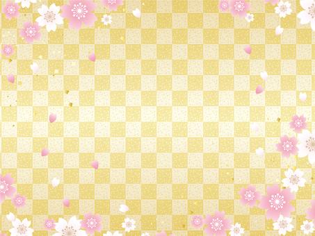 桜の花フレーム10
