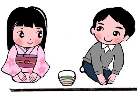 Tea ceremony How to get a mark 1
