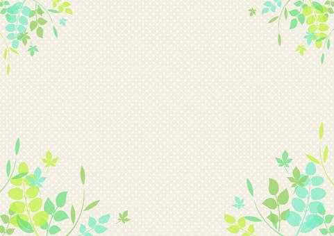 Fresh green material 108