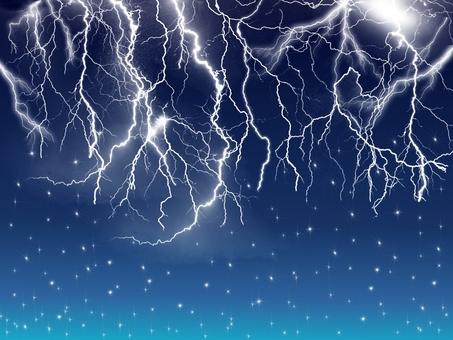 Background · Night thunder