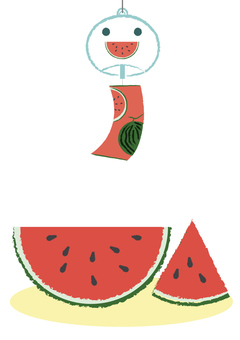 summer_watermelon and wind chimes 1