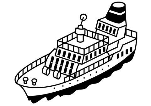 Passenger boat 1c