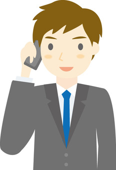 A businessman who makes a mobile phone