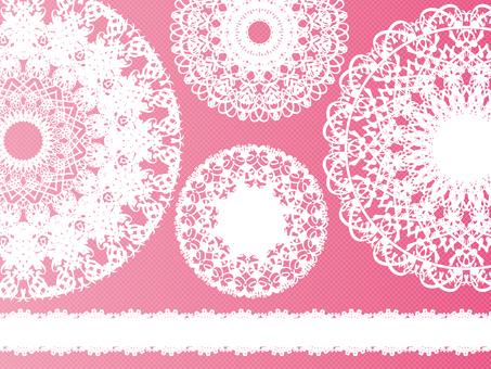 Lace pattern Q