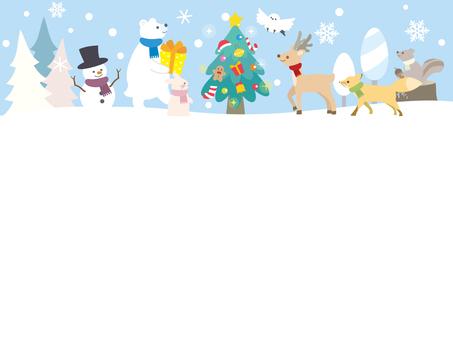 クリスマスフレーム3