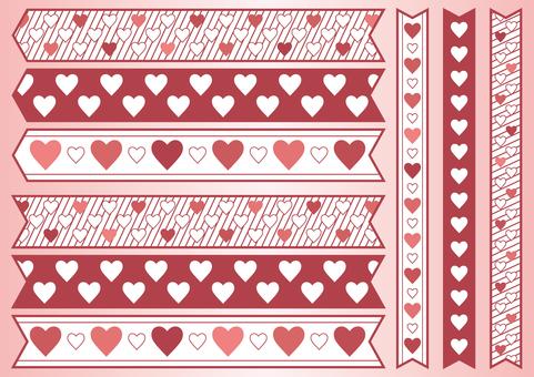 Heart ribbon 02