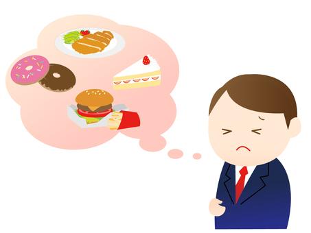 A man on a diet