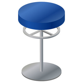 Counter round chair