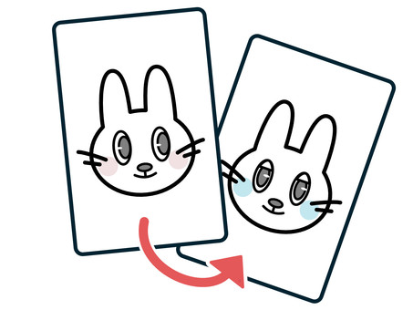 Illustration of copyright (same identity) processing / editing