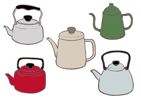 Kettle set (color)