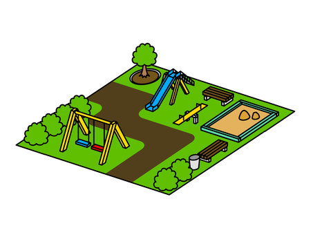 Park illustration