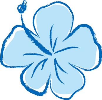 Hibiscus 02 - blue
